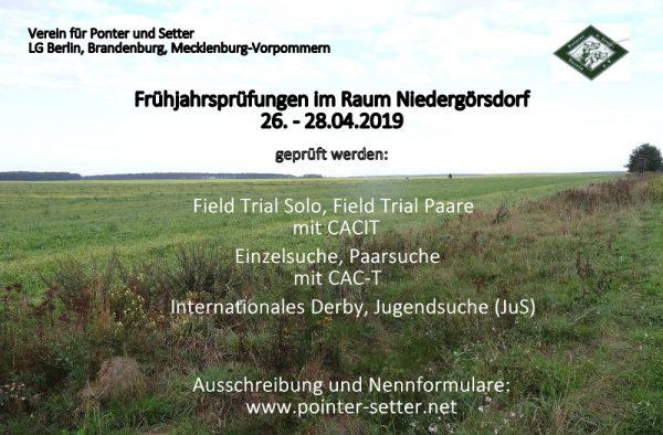 Field Trial 2019